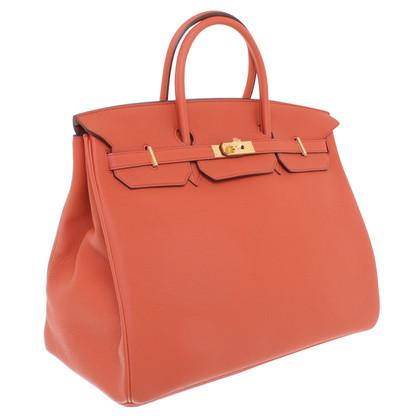 "Hermès ""Birkin Bag 40 Togo Leather Terre Battue"""