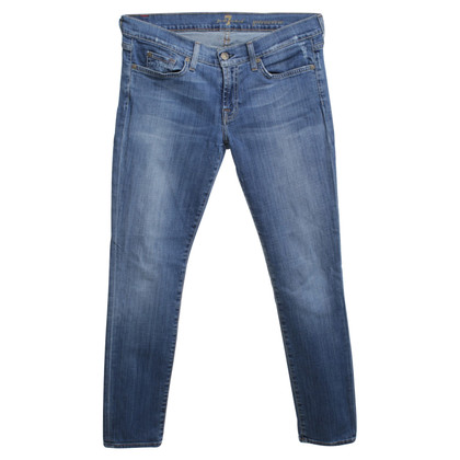 "7 For All Mankind Jeans ""Gwenevere"" in Blau"