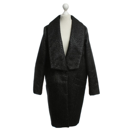 Drykorn Coat with Houndstooth pattern