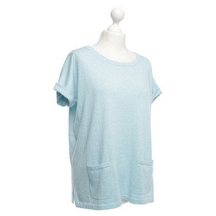 Allude top light blue