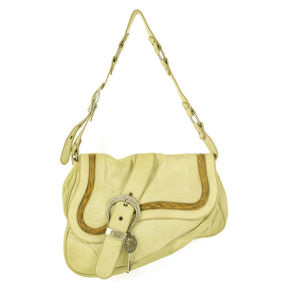 Christian Dior Gaucho Bag in Creme