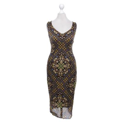Escada Silk dress with pattern