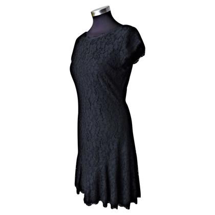 Diane von Furstenberg Lace dress in black
