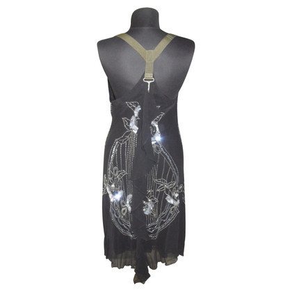 Diesel Black Gold Dress with sequins