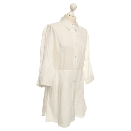 Acne Shirt Dress in White