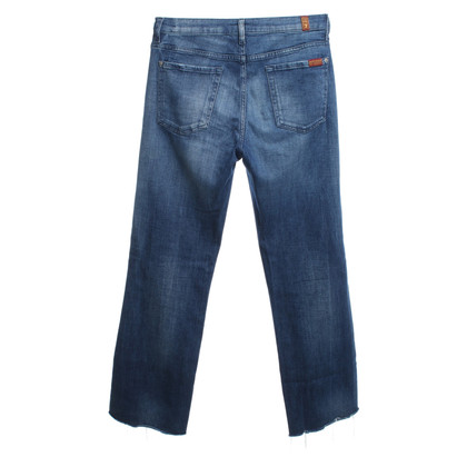 7 For All Mankind jeans vernietigd