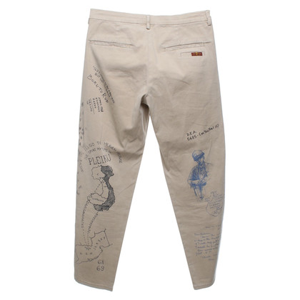 7 For All Mankind Hose in Beige