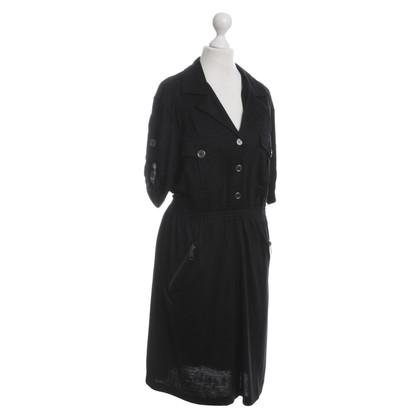 Burberry Wollkleid mit Taschen