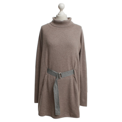 Brunello Cucinelli Roll collar sweater in beige