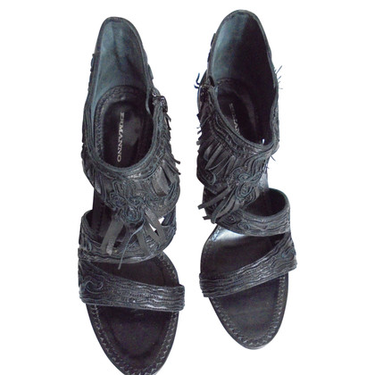 Ermanno Scervino Sandalen in zwart