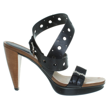 Tod's Platform sandals in black