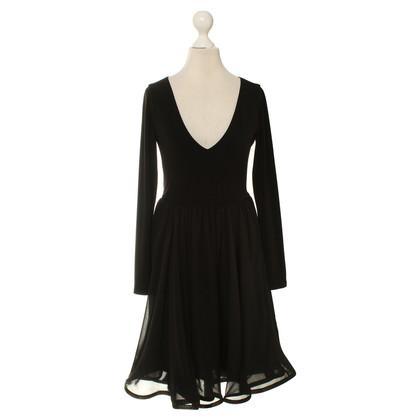 Alice + Olivia Zwarte jurk