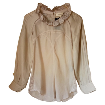 Isabel Marant Etoile camicetta di seta Aiko / cotone