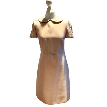 Jil Sander Silk dress in Nude