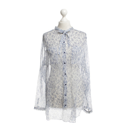 St. Emile Silk blouse with print