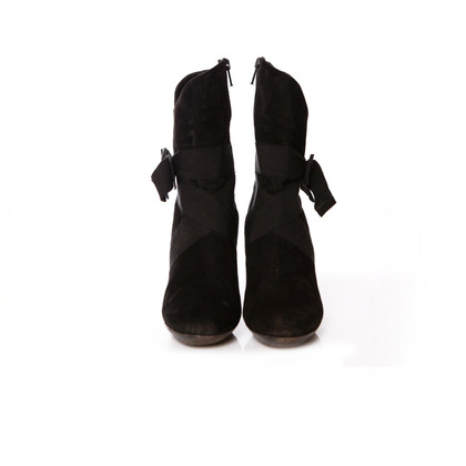 DKNY Suede boots with bow