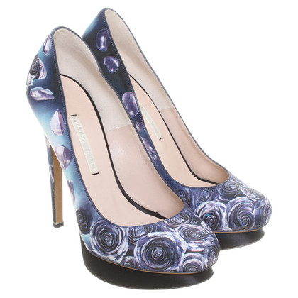 Nicholas Kirkwood Pumps with floral print