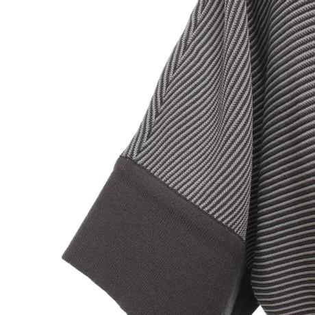 Streifenmuster Giorgio Giorgio mit Strickshirt Armani Bunt Muster Armani 5ZSBXxdwq