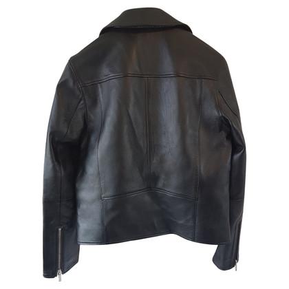Karl Lagerfeld Veste en cuir