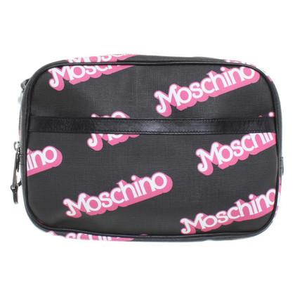 Moschino Shoulder bag with label motif