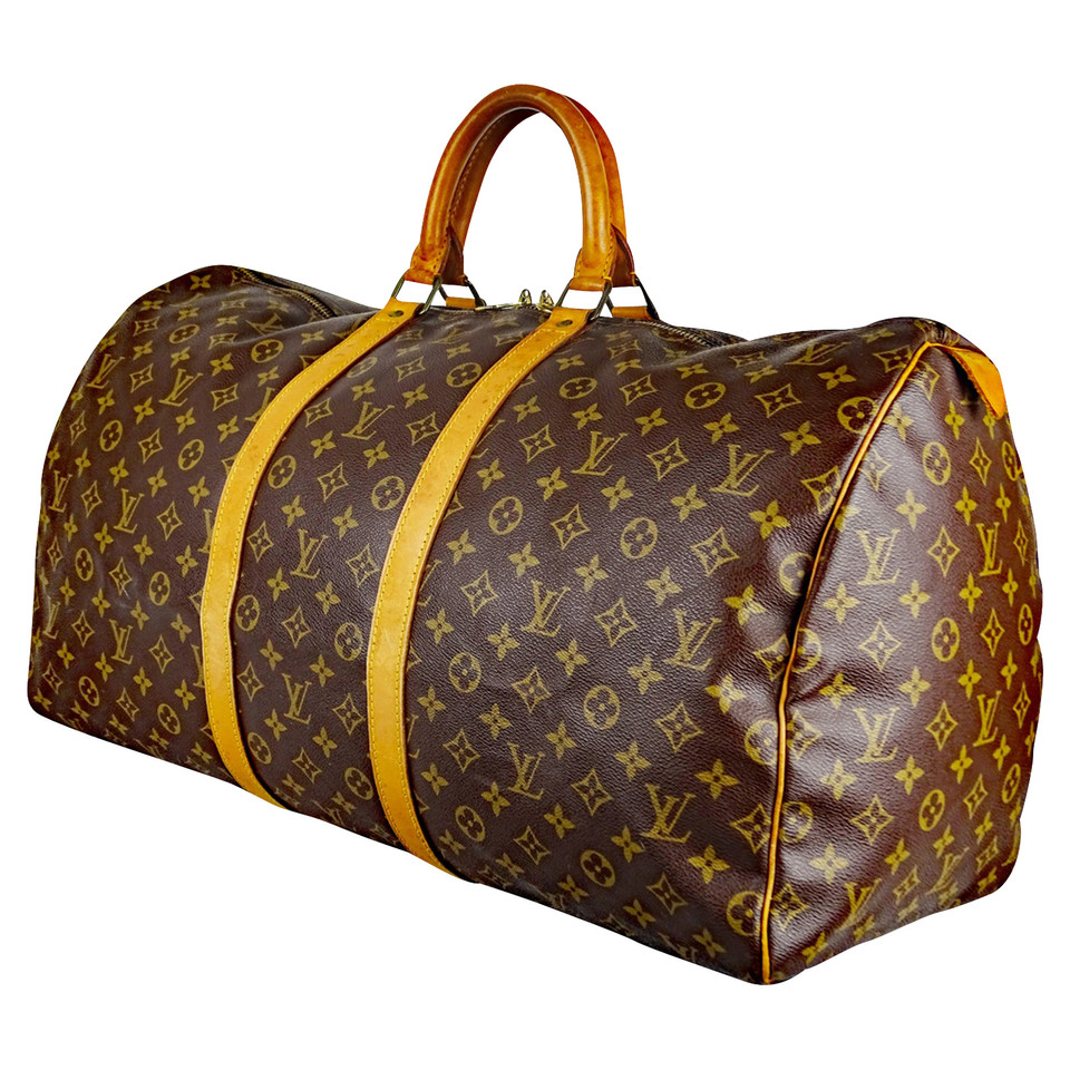 louis vuitton keepall 55 second hand louis vuitton keepall 55 gebraucht kaufen f r 729 00. Black Bedroom Furniture Sets. Home Design Ideas