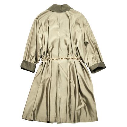 Hermès Silk trench coat
