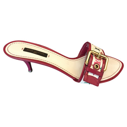 Louis Vuitton Sandals from Monogram Multicolore Canvas