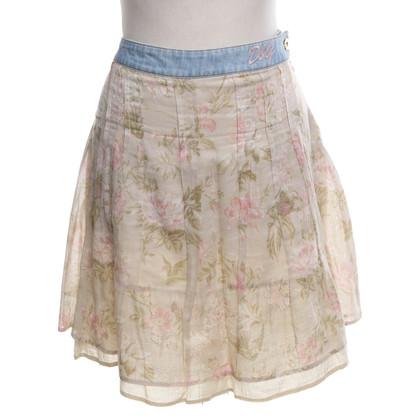 D&G Jupe avec motif floral