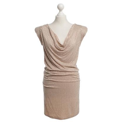 Patrizia Pepe Kleid mit Perlenbesatz