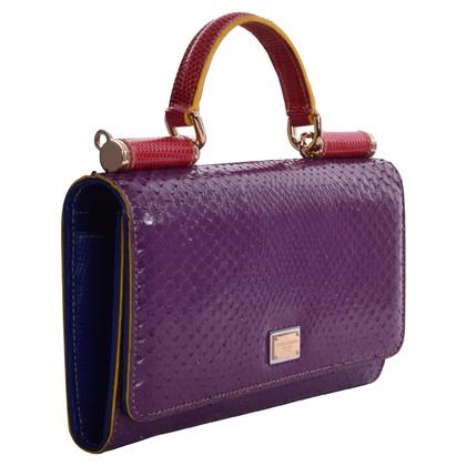 "Dolce & Gabbana ""La Sicilia Telefono Bag"""