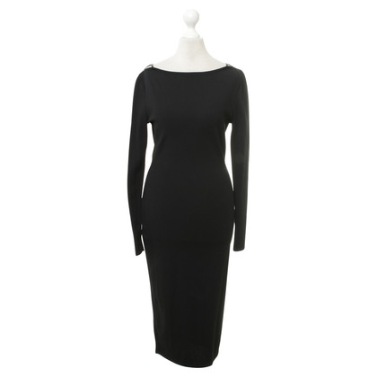 Gucci Jersey-jurk in zwart