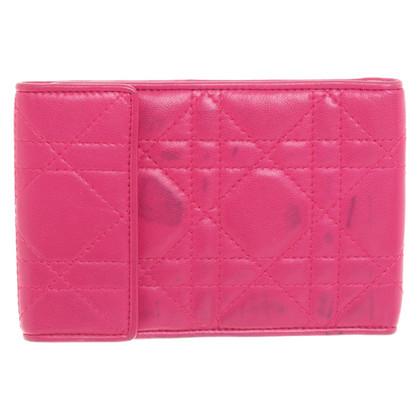 Christian Dior Passport Holder in Pink