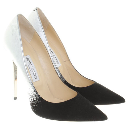 Jimmy Choo pumps in Nero / Argento