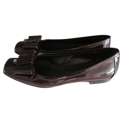 Fendi Ballerinas aus Lackleder