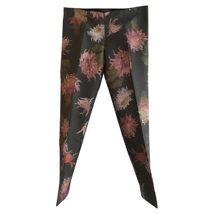 Bruuns Bazaar trousers with a floral pattern