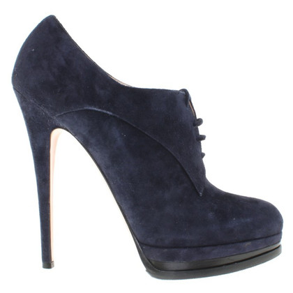 Casadei pumps suede