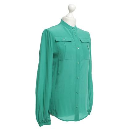 Andere merken Sly - zijden blouse in het groen