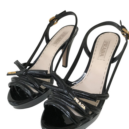 Prada Sandals with bow detail