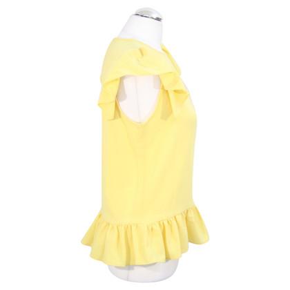 Sonia Rykiel Blouse top in yellow