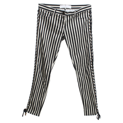 Elisabetta Franchi Jeans with striped pattern