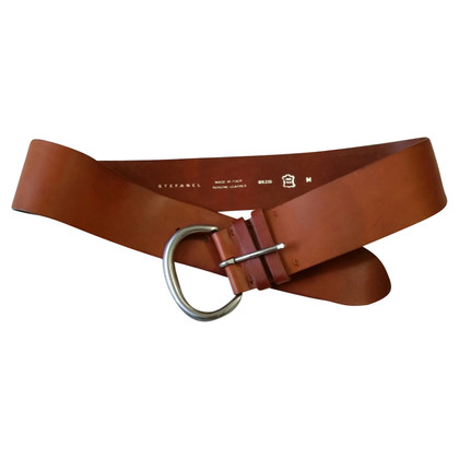 Stefanel Brown leather belt