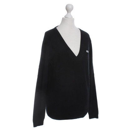 Lacoste Cashmere sweater in black