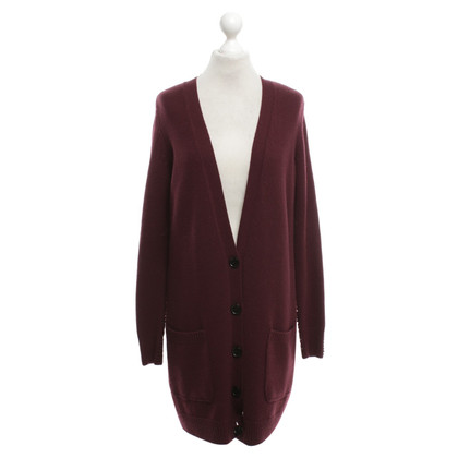 Akris Strickjacke in Bordeaux