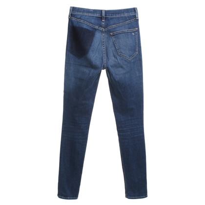 Rag & Bone Skinny Jeans in Blue
