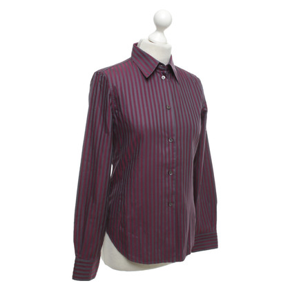 Loro Piana Shirt blouse with vertical stripes