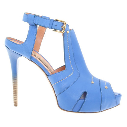 Gianmarco Lorenzi High Heels in Blau