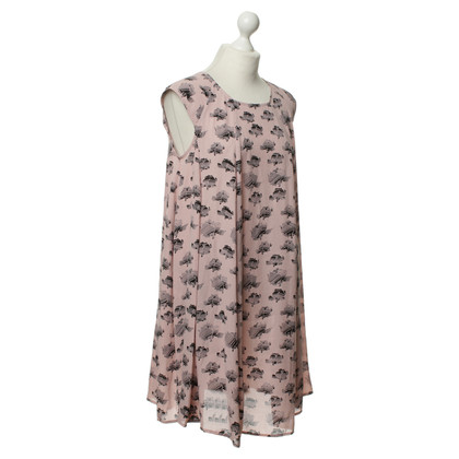 Rebecca Minkoff Pink dress with print