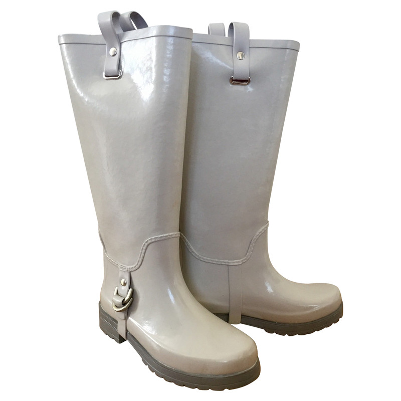 Dkny Boots in Grey - Second Hand Dkny