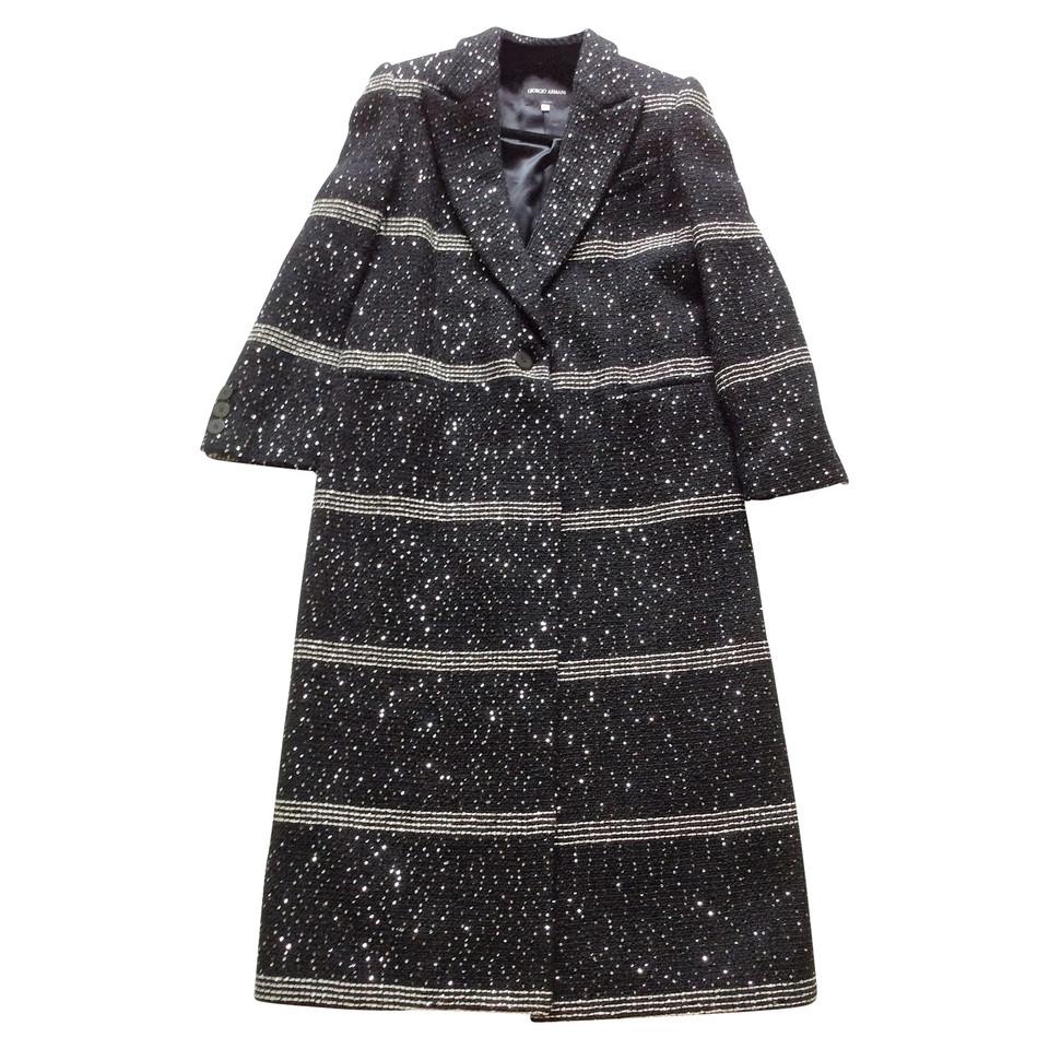 giorgio armani mantel second hand giorgio armani mantel gebraucht kaufen f r 585 00 2533438. Black Bedroom Furniture Sets. Home Design Ideas