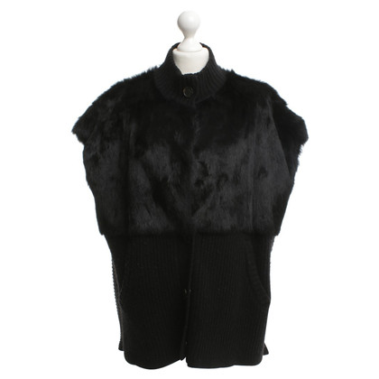 Marc by Marc Jacobs Vest with fur trim